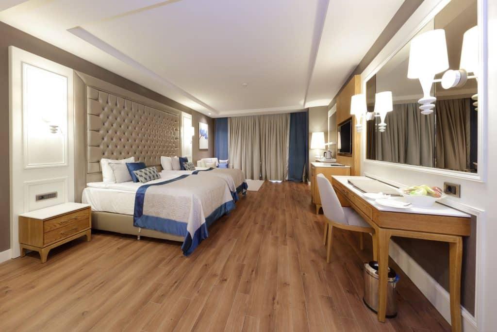 Hotelkamer van Sueno Deluxe in Belek, Turkije