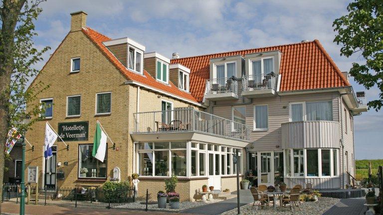 Hotelletje de Veerman in Oost-Vlieland, Vlieland