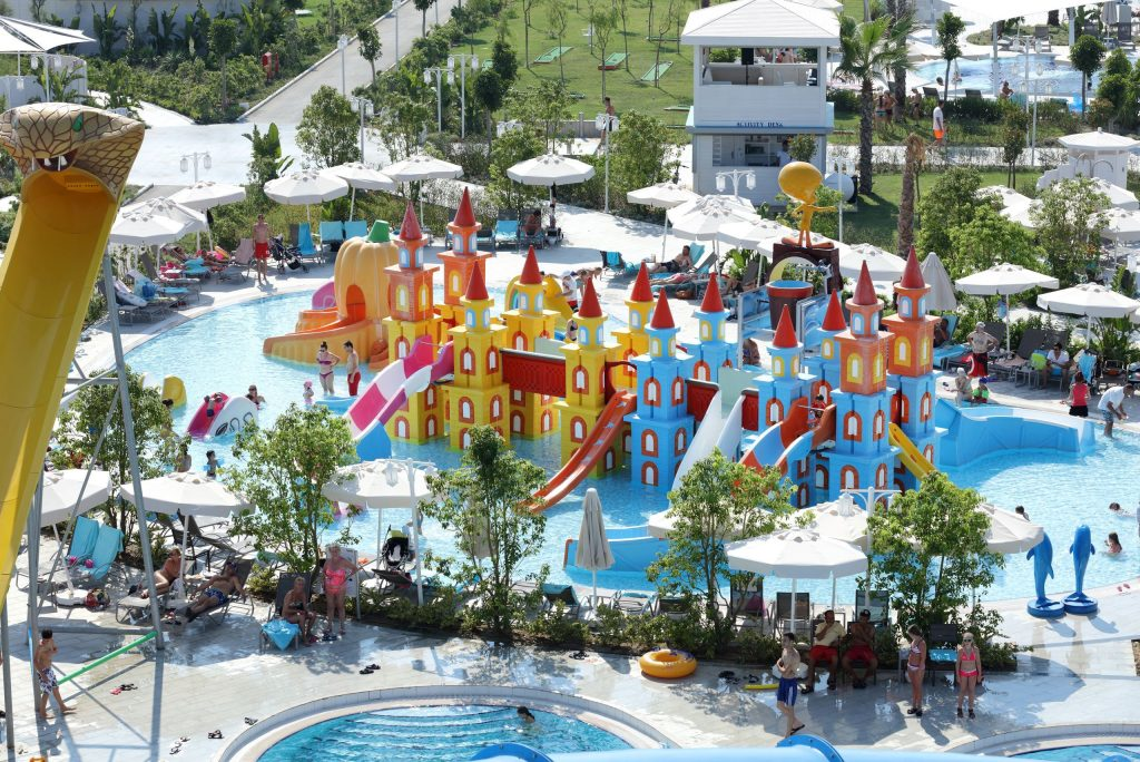 Kinderbad van Sueno Deluxe in Belek, Turkije