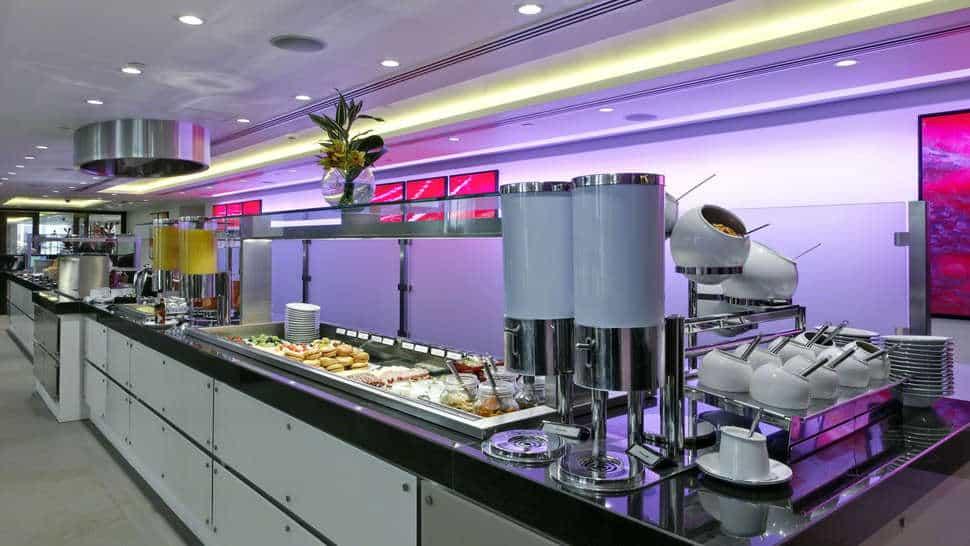 Ontbijt in Grange Tower Bridge Hotel in Londen, Engeland