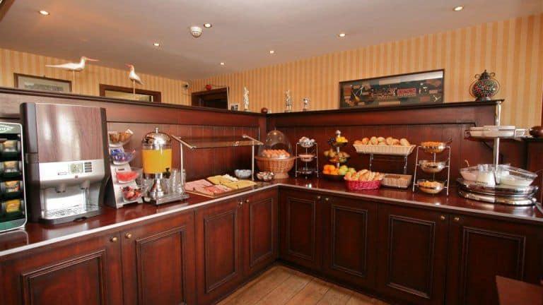 Ontbijt van Hotel Restaurant Victoria