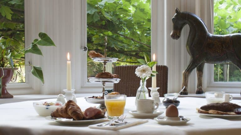 Ontbijt van Landgoed Huize Bergen in Vught, Noord-Brabant