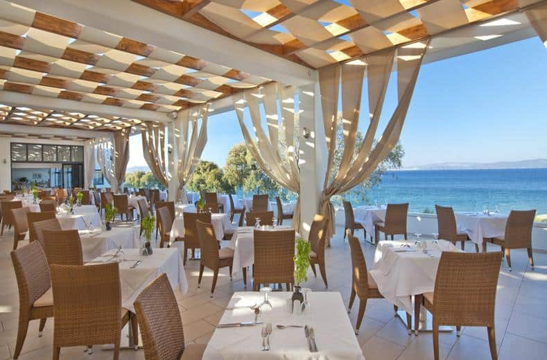 Restaurant van TUI SENSIMAR Oceanis Beach en Spa Resort in Kos-Stad, Kos