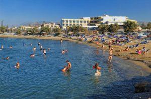 Aphrodite Beach Club in Gouves, Kreta