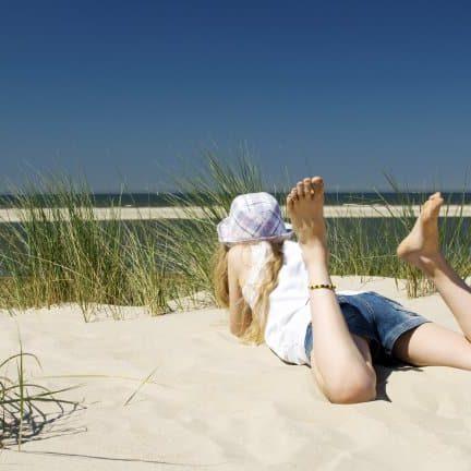 Strand in Zuid-Holland