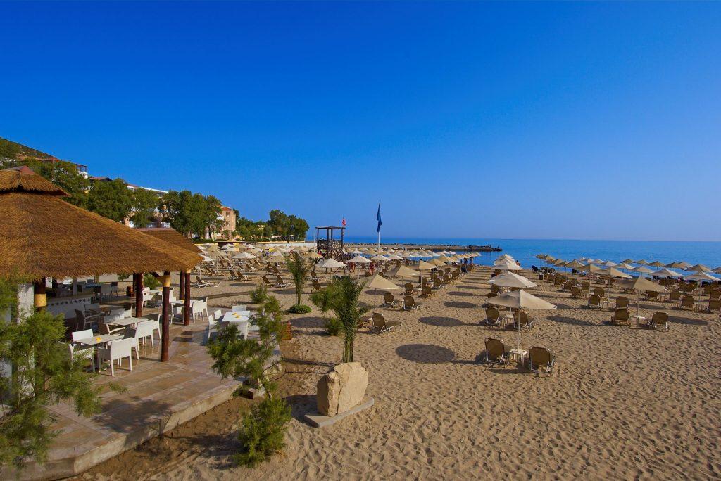 Strand van Fodele Beach in Fodele, Kreta