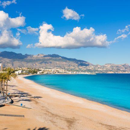 Playa del Albir in Altea, Spanje