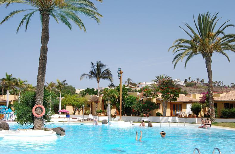 Zwembad van Bungalows Parque Bali, Maspalomas, Gran Canaria