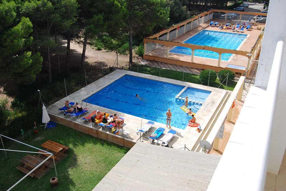 Zwembad van  Hotel Mirasol in l'Estartit, Spanje