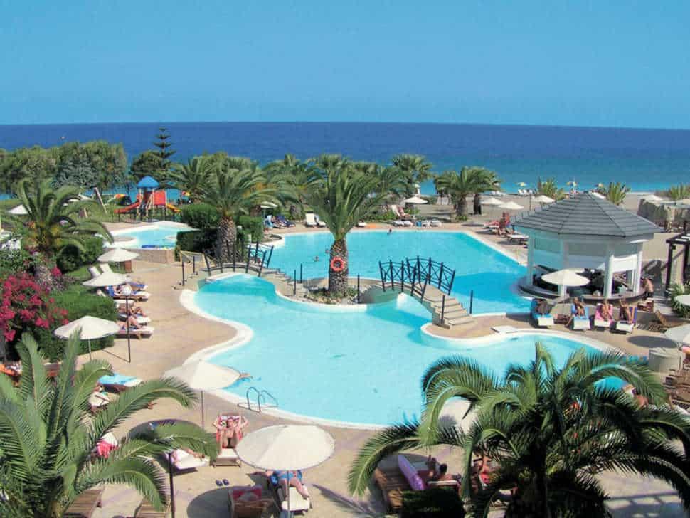 D'Andrea Mare Beach Resort in Trianda, Rhodos