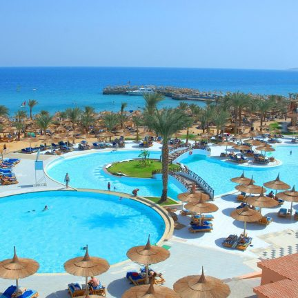 Beach Albatros Resort in Hurghada, Egypte