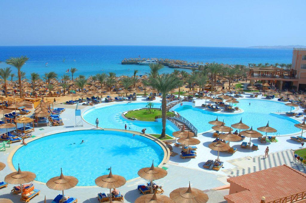 Zwembaden van Beach Albatros Resort in Hurghada, Egypte