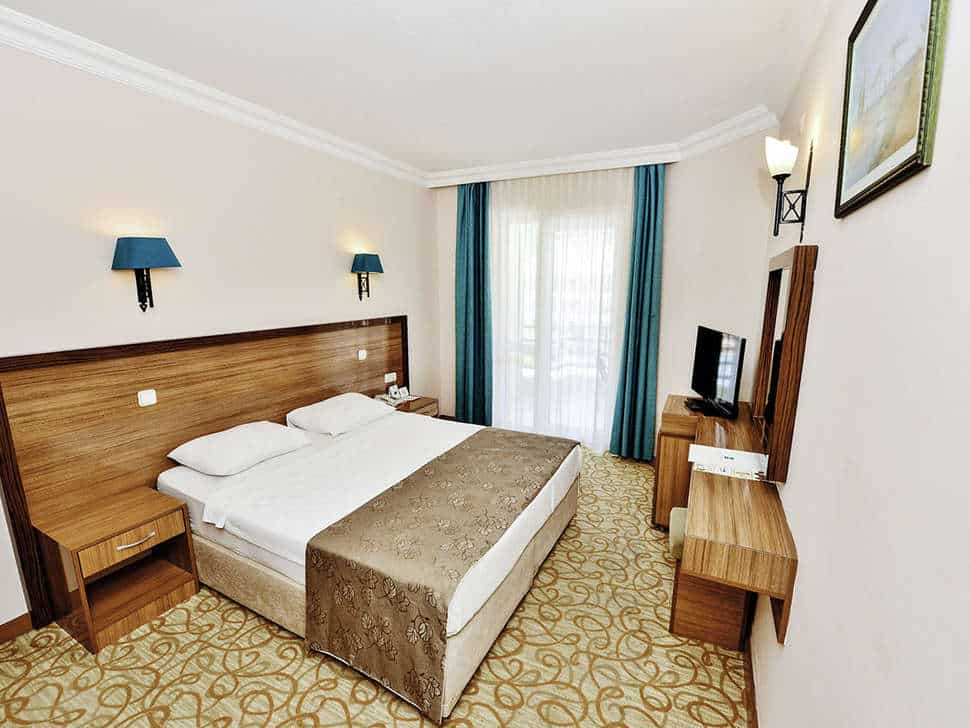 Hotelkamer van Green Nature Resort & Spa in Marmaris, Turkije