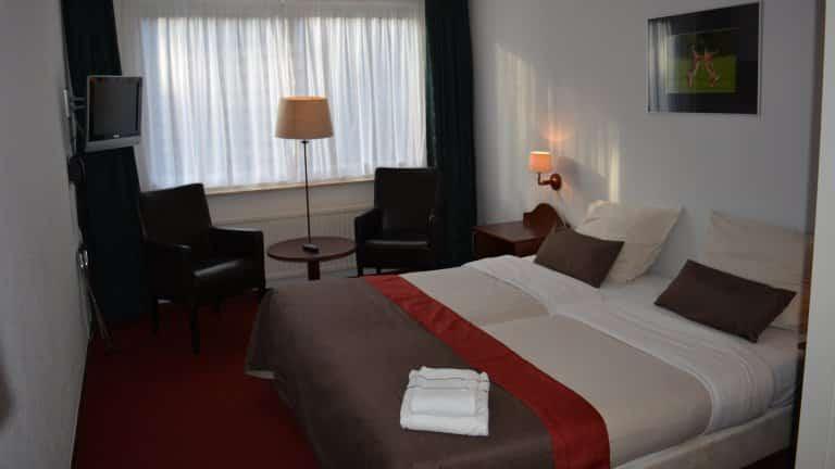 Hotelkamer van Hotel Restaurant de Foreesten in Vierhouten, Gelderland