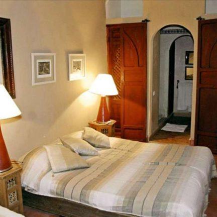 Hotelkamer van Riad Barroko in Marrakech, Marokko