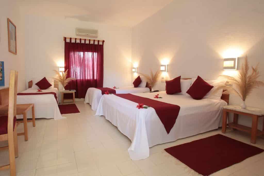 Hotelkamer van Samira Club in Hammamet, Tunesië