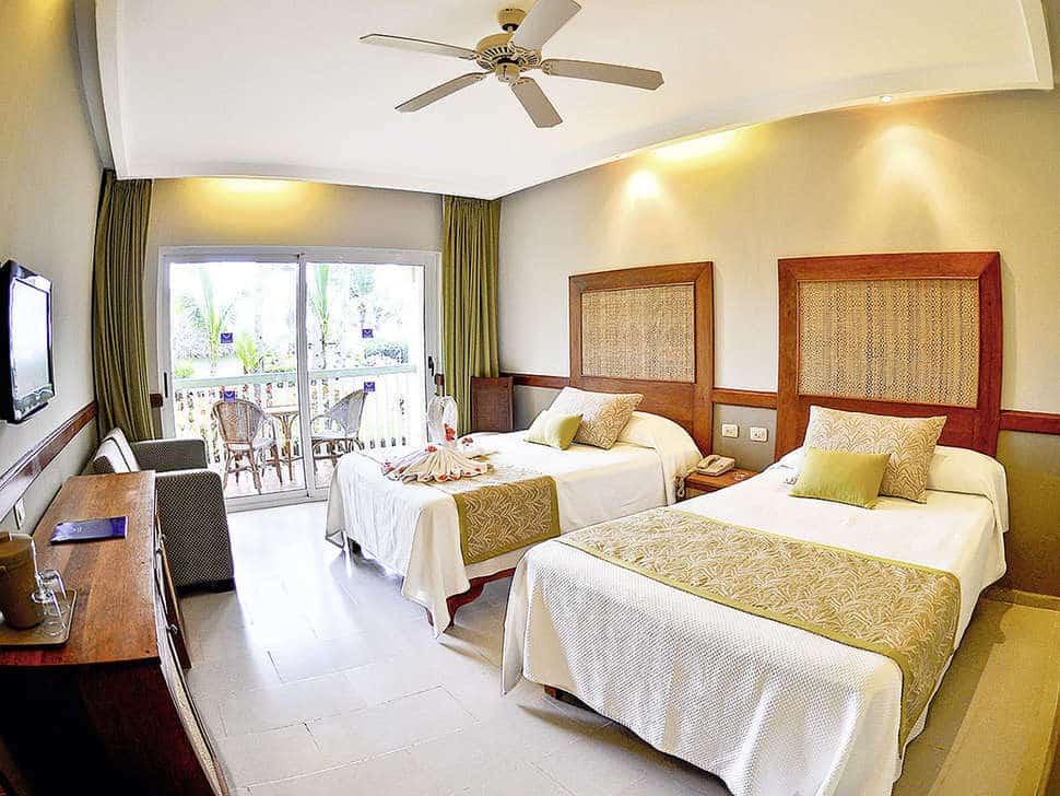 Hotelkamer van VIK Hotel Arena Blanca in Punta Cana, Dominicaanse Republiek