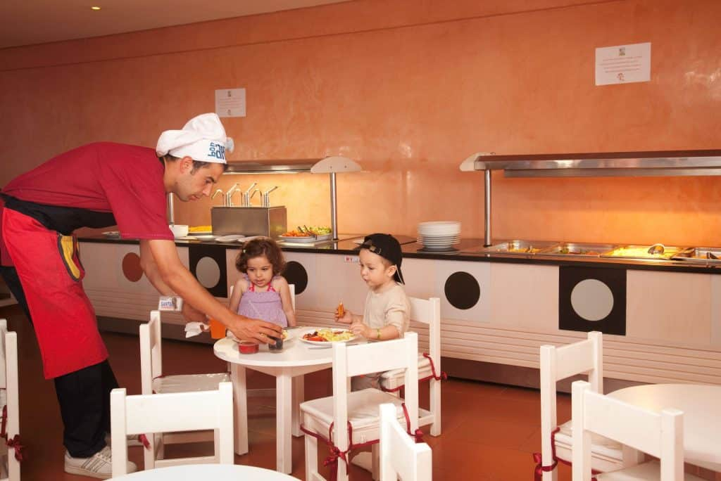 Kids van Samira Club in Hammamet, Tunesië