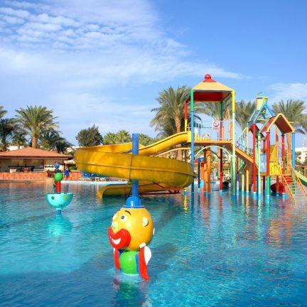 Kinderbad van Beach Albatros Resort in Hurghada, Egypte