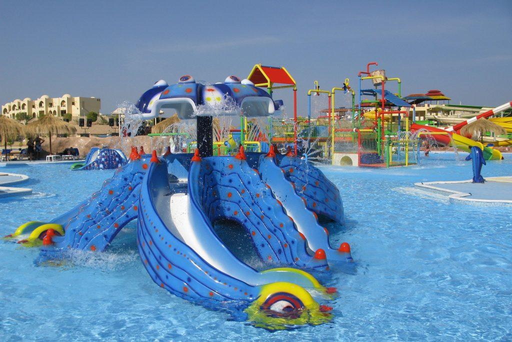 Kinderbad van Tia Heights in Hurgada Makadi Bay, Egypte