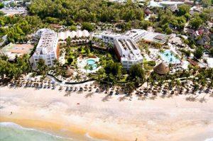 Hotel Palm Beach in Sali Portudal, Senegal