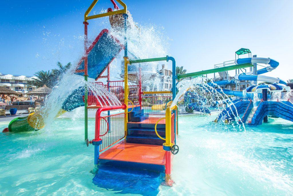 Kinderbad van het Seagull Resort in Hurghada, Egypte