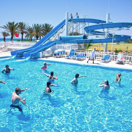 Zwembad van Samira Club in Hammamet, Tunesië