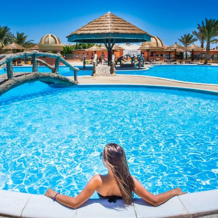 Seagull Resort in Hurghada, Egypte