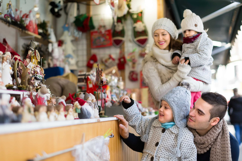 Kerstmarkt Essen in Essen, Duitsland