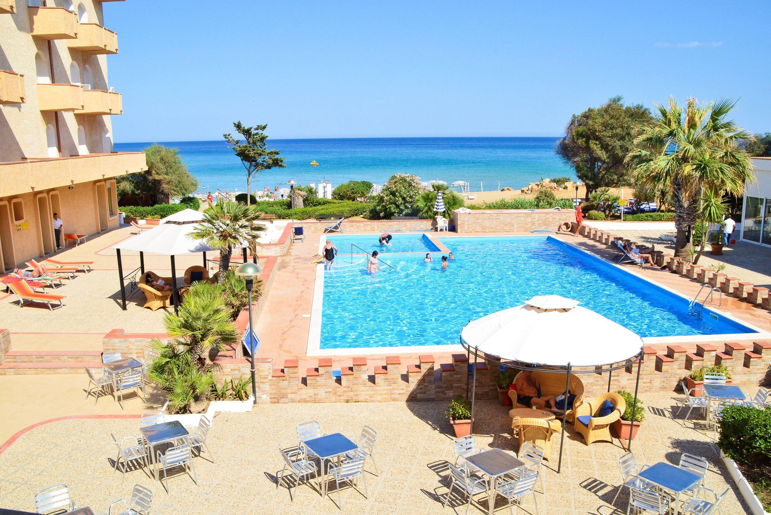 Hotel Club Eloro in Noto, Sicilie