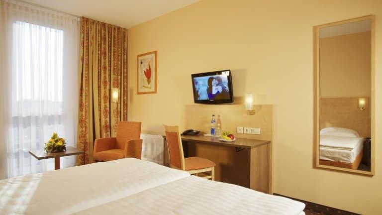 Hotelkamer van ECONTEL Hotel Berlin Charlottenburg in Berlijn, Duitsland