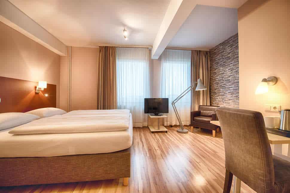 Hotelkamer van Enjoy Hotel Berlin City Messe in Berlijn, Duitsland