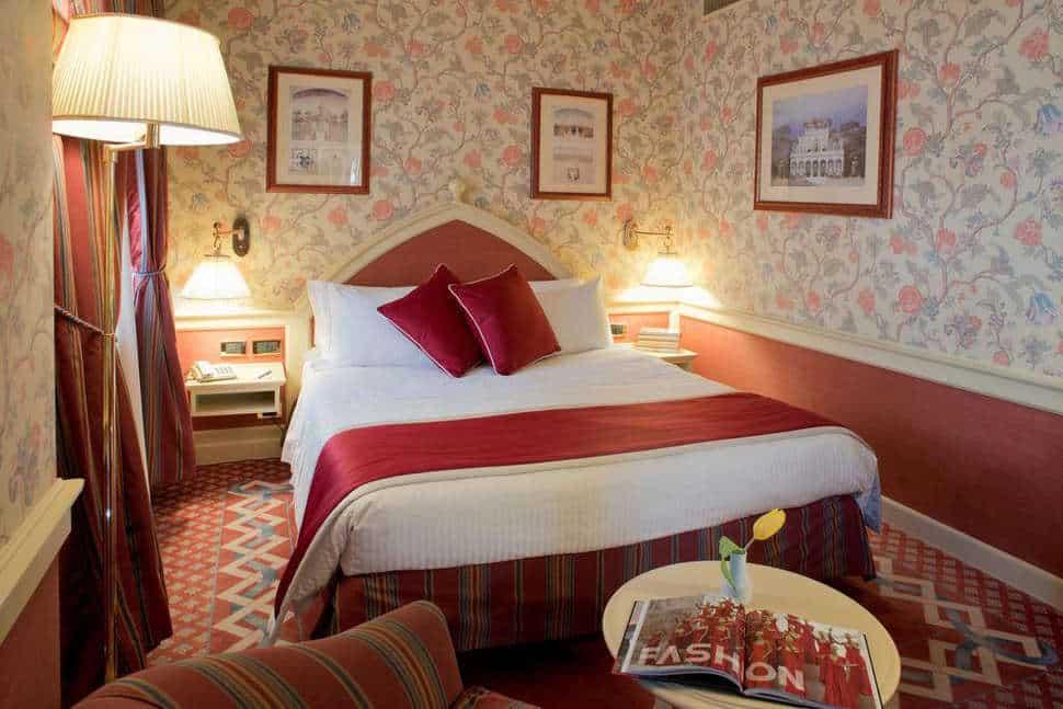 Hotelkamer van Mercure Milano Regency in Milaan, Italië
