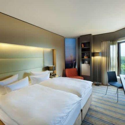Hotelkamer van Swissôtel Düsseldorf/Neuss in Neuss, Duitsland