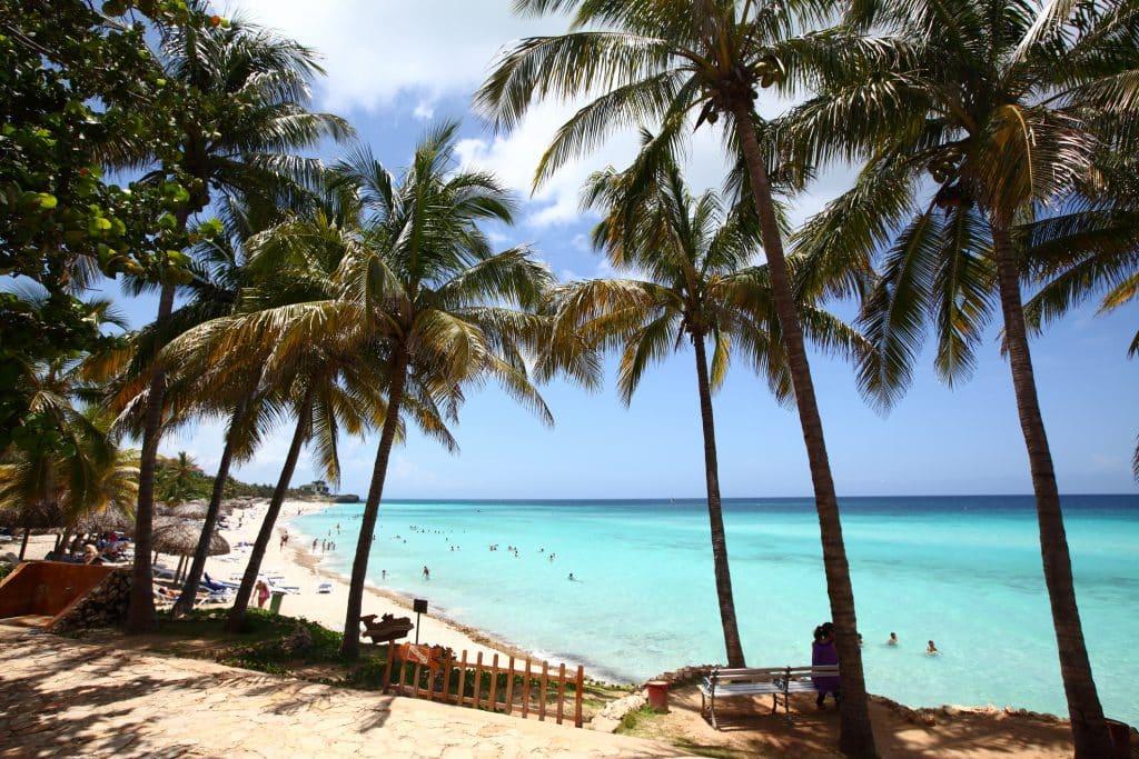 Prachtig Cubaans strand in Varadero
