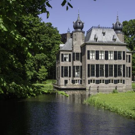 Kasteel Oud-Poelgeest in Oestgeest, Zuid-Holland