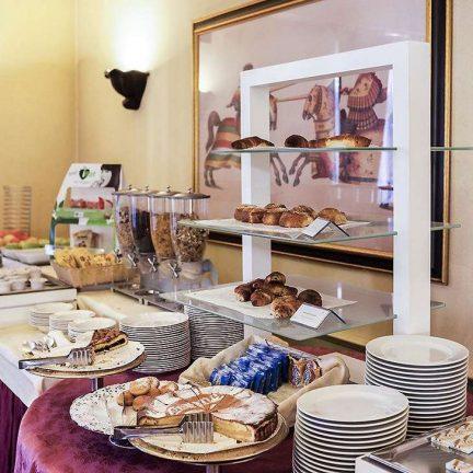 Ontbijt van Mercure Milano Regency in Milaan, Italië
