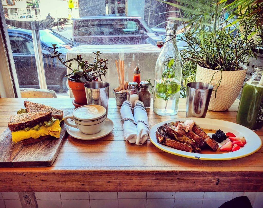 Ontbijt in New York, Verenigde Staten