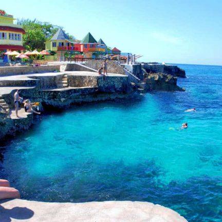 Samsara Cliffs hotel in Negril, Jamaica