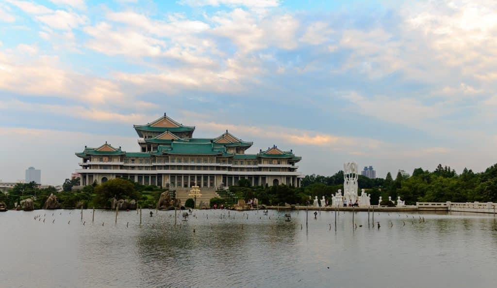 People's Palace school, Pyongyang in Noord-Korea