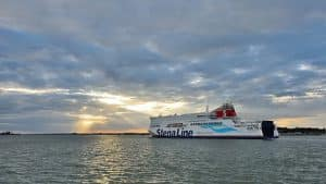 Stena Hollandica in Harwich, Engeland