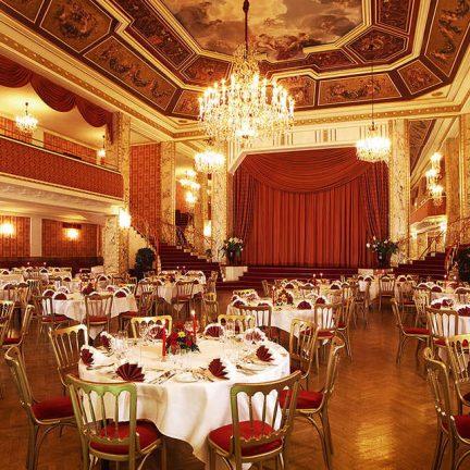 Restaurant van Austria Trend Parkhotel Schonbrunn in Wenen, Oostenrijk