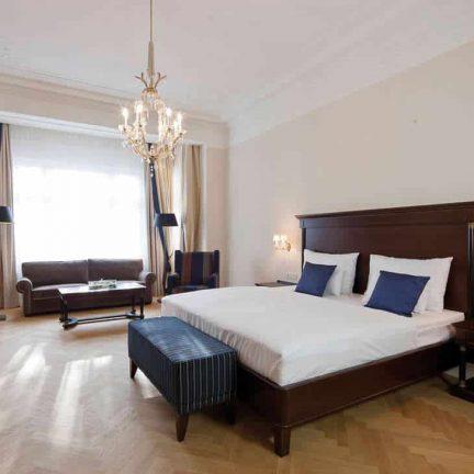 Hotelkamer van Austria Trend Parkhotel Schonbrunn in Wenen, Oostenrijk