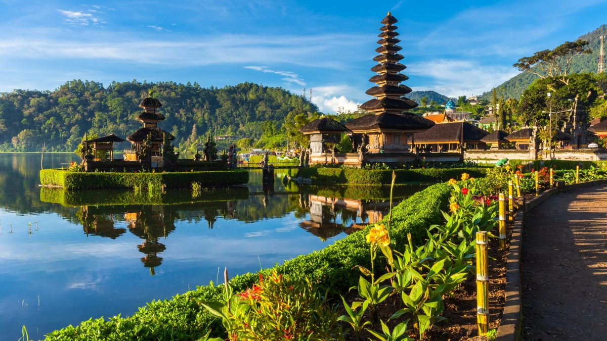 Tempel op Bali, Indonesië
