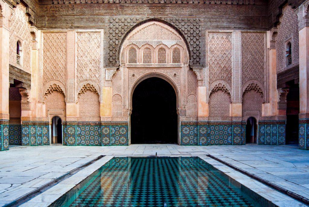 Ben Youssef Madrasa in Marrakech, Marokko