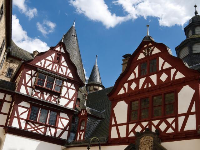Huizen in Winterberg, Duitsland