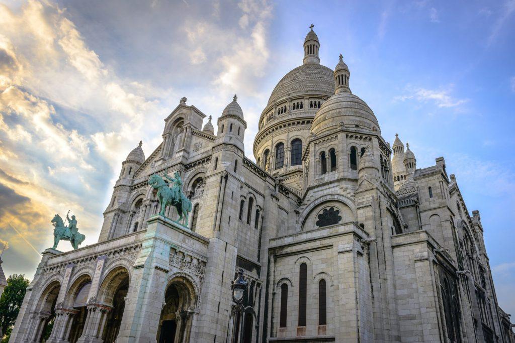 Sacre-Coeur Basiliek in Parijs, Frankrijk