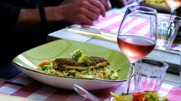 Restaurant van Loodshotel Vlieland in Oost-Vlieland, Vlieland