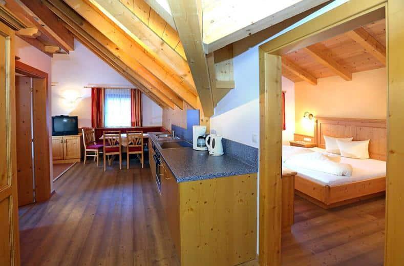 Appartement van Schweizerhof in Huben, Oostenrijk