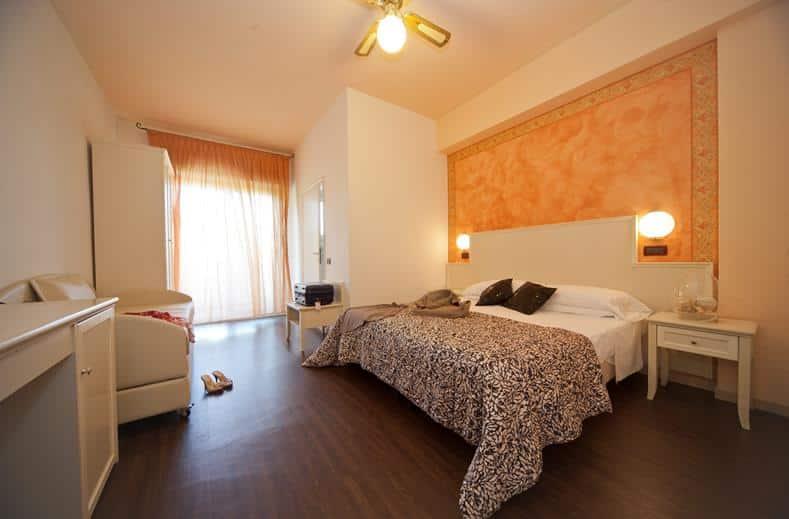 Hotelkamer van Parkhotel Serena in Rimini, Italië